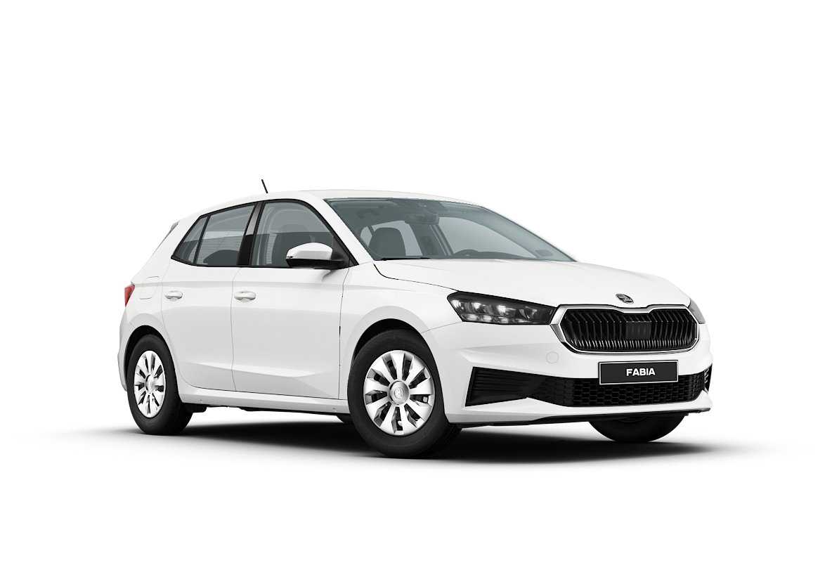 Fabia neues Modell weiss